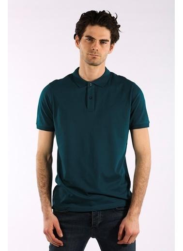 Rodrigo Erkek Petrol Düz Polo Yaka T-shirt Petrol